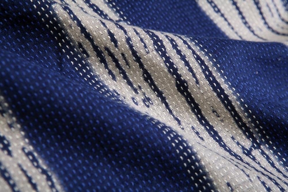 Stitched Stripe<br/>100% Cotton