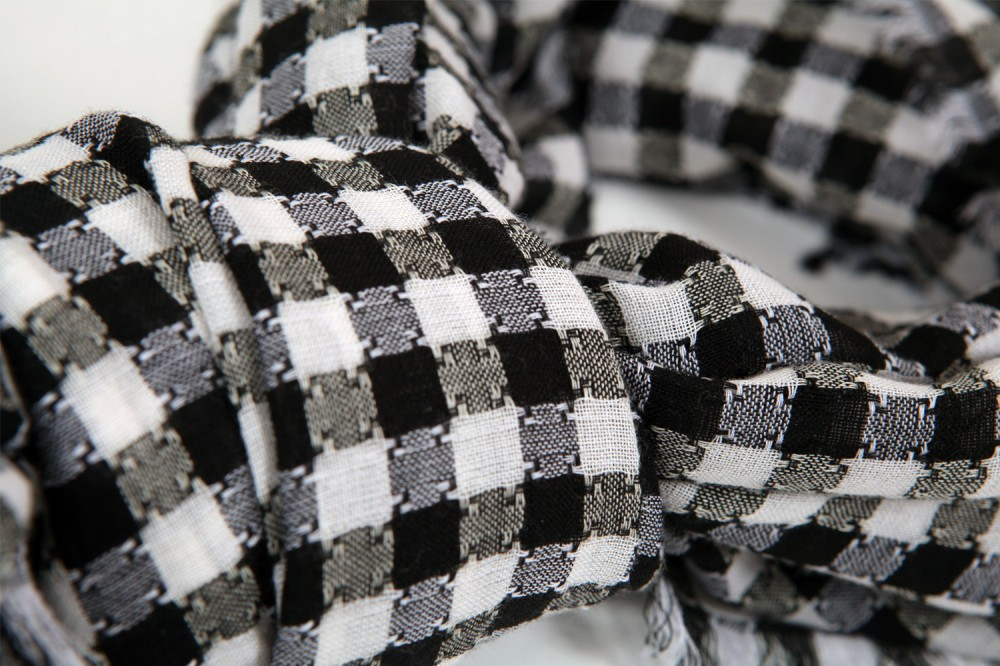 Checkerboard Weave Structure<br/>100% Cotton