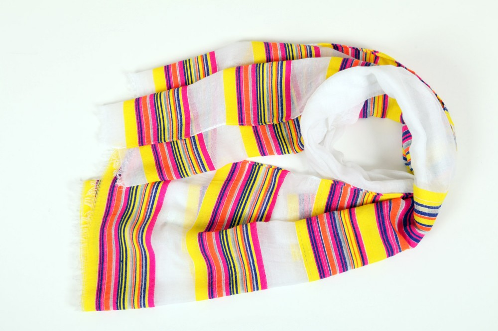Neon Stripe<br/>100% Cotton
