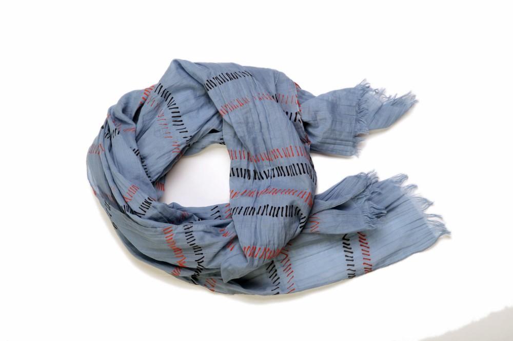 Felt-tip Stripe<br/>100% Cotton