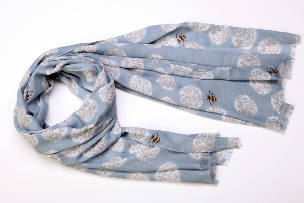 Floral Bee<br>Cotton / Silk