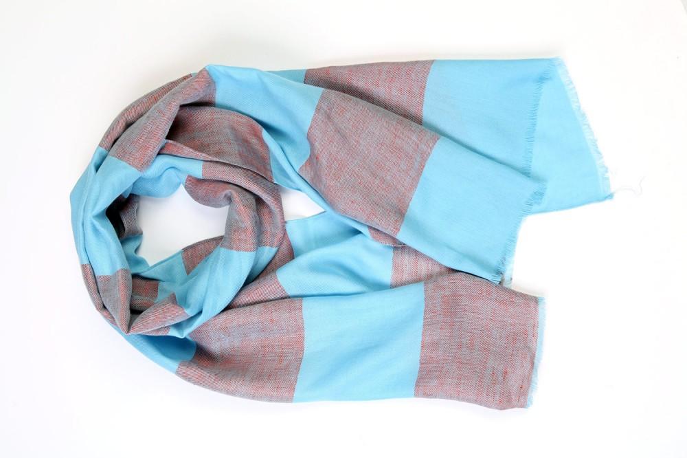 Block Stripe<br/>100% Cotton